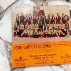 Disques de vinyle: CORO CANTIGAS DA TERRA. Lote 192181401