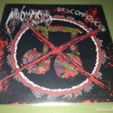 Discos de vinilo: MIXOMATOSIS - DESCOMPOSICIÓN - GRINDCORE FLEXI-DISC EP. Lote 192185410