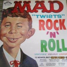 Discos de vinilo: MAD TWIST - ROCKN ROLL LP - ORIGINAL U.S.A. - BIG - TOP RECORDS 1964 MONOAURAL - MUY BUEN ESTADO. Lote 192185455