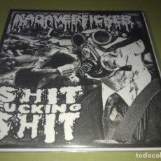 Discos de vinilo: KADAVERFICKER / SHIT FUCKING SHIT - SPLIT GRINDCORE. Lote 192185630