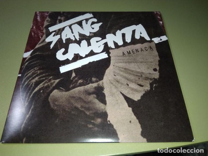 AMENAÇA - SANG CALENTA - EP HARDCORE (Música - Discos de Vinilo - EPs - Punk - Hard Core)