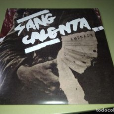 Discos de vinilo: AMENAÇA - SANG CALENTA - EP HARDCORE. Lote 192185821