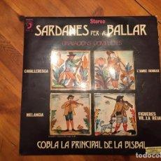 Discos de vinilo: COBLA LA PRINCIPAL DE LA BISBAL,SARDANAS PER BALLAR 1973. Lote 192189266