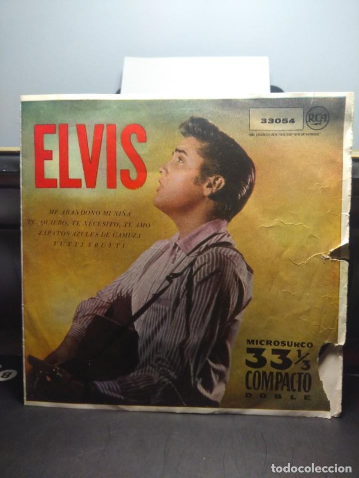 EP ELVIS PRESLEY : ME ABANDONO MI NIÑA + ZAPATOS AZULES DE GAMUZA + TUTTI FRUTTI + TE QUIERO, TE (Música - Discos de Vinilo - EPs - Pop - Rock Extranjero de los 50 y 60)