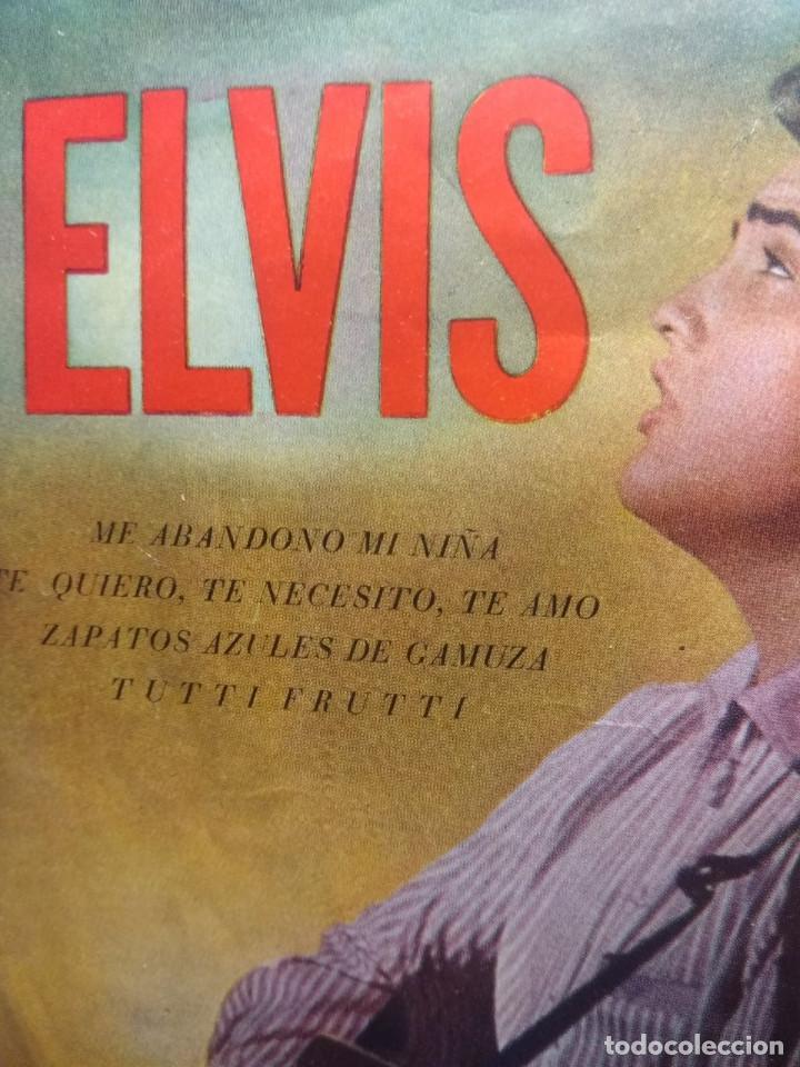 Discos de vinilo: EP ELVIS PRESLEY : ME ABANDONO MI NIÑA + ZAPATOS AZULES DE GAMUZA + TUTTI FRUTTI + TE QUIERO, TE - Foto 2 - 192190373
