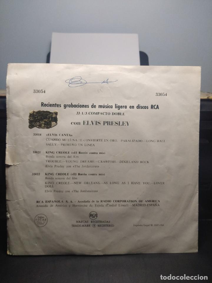 Discos de vinilo: EP ELVIS PRESLEY : ME ABANDONO MI NIÑA + ZAPATOS AZULES DE GAMUZA + TUTTI FRUTTI + TE QUIERO, TE - Foto 3 - 192190373