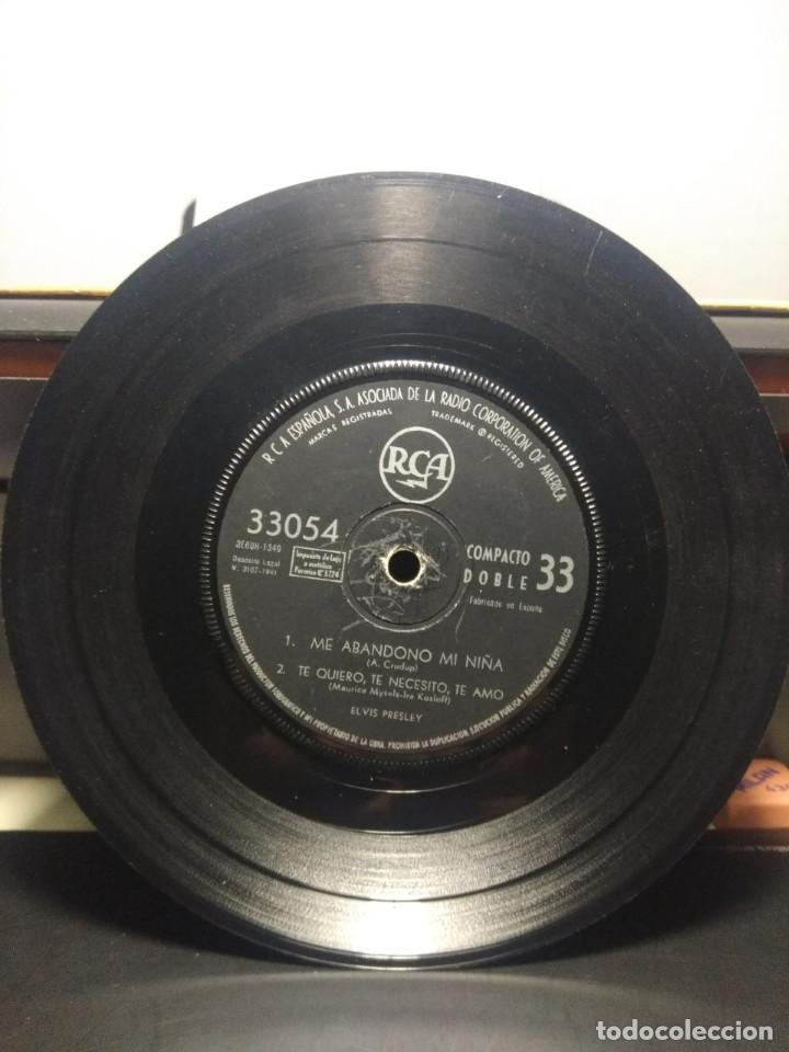 Discos de vinilo: EP ELVIS PRESLEY : ME ABANDONO MI NIÑA + ZAPATOS AZULES DE GAMUZA + TUTTI FRUTTI + TE QUIERO, TE - Foto 4 - 192190373