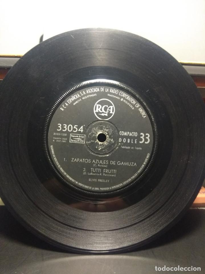 Discos de vinilo: EP ELVIS PRESLEY : ME ABANDONO MI NIÑA + ZAPATOS AZULES DE GAMUZA + TUTTI FRUTTI + TE QUIERO, TE - Foto 5 - 192190373