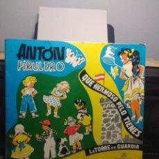 Discos de vinilo: EP CANCIONES POPULARES INFANTILES : ANTON PIRULETO, TENGO UNA MUÑECA VESTIDA DE AZUL, MAMBRU, ETC. Lote 192190602