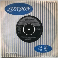 Dischi in vinile: ROY ORBISON. TOO SOON TO KNOW/ YOU'LL NEVER BE SIXTEEN AGAIN. LONDON, UK 1966 SINGLE. Lote 192192681