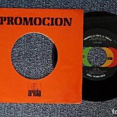 Discos de vinilo: CAMILO SESTO - QUIÉN SERÁ / CONTRA EL AIRE. PROMOCIONAL . EDITADO POR ARIOLA. AÑO 1.979. Lote 192195720