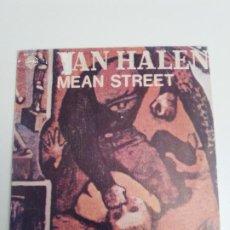Discos de vinilo: VAN HALEN MEAN STREET / PUSH COMES TO SHOVE ( 1981 HISPAVOX ESPAÑA ) DAVID LEE ROTH. Lote 192196093