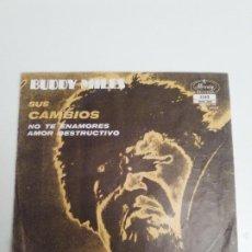 Discos de vinilo: BUDDY MILES SUS CAMBIOS THEM CHANGES + 2 ( 1971 MERCURY MEXICO ) NO TE ENAMORES AMOR DESTRUCTIVO. Lote 192196171