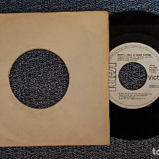 Discos de vinilo: DARYL HALL & JOHN OATES - DO WHAT YOU WANT, BE WHAT YOU ARE / YOU´LL NEVER LEARN.PROMOCIONAL. Lote 192196837
