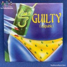 Discos de vinilo: SINGLE - GUILTY - CULPABLE - LIME - ESPAÑA - 1983. Lote 192216323