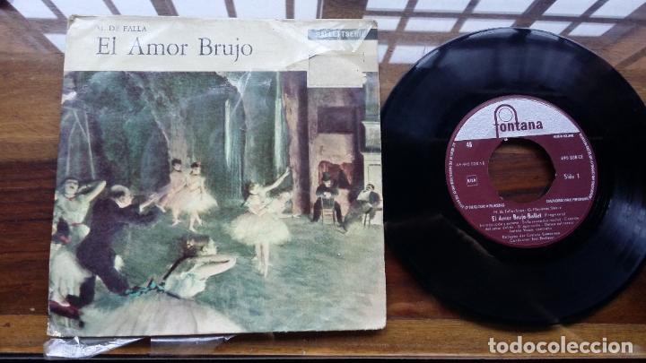 EL AMOR BRUJO MANUEL DE FALLA SINGLE MADE IN HOLLAND, FONTANA (Música - Discos - Singles Vinilo - Clásica, Ópera, Zarzuela y Marchas)