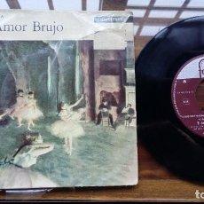 Discos de vinilo: EL AMOR BRUJO MANUEL DE FALLA SINGLE MADE IN HOLLAND, FONTANA. Lote 192221152