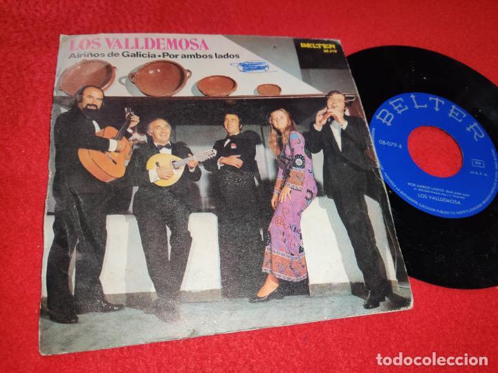 LOS VALLDEMOSA AIRIÑOS DE GALICIA/POR AMBOS LADOS 7 SINGLE 1972 BELTER (Música - Discos - Singles Vinilo - Grupos Españoles 50 y 60)