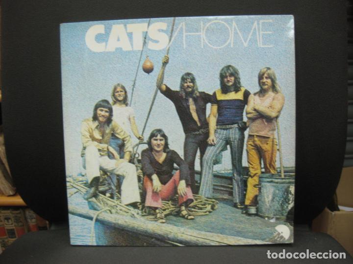 THE CATS. HOME. EMI 1973. LP. (Música - Discos - LP Vinilo - Pop - Rock - Extranjero de los 70)