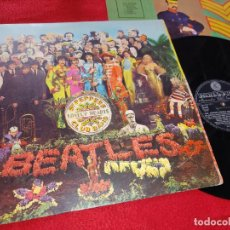 Discos de vinilo: THE BEATLES SGT.PEPPER'S LONELY HEARTS CLUB BAND LP 1967 PARLOPHON PMCQ31512 ITALIA ITALY. Lote 192231346