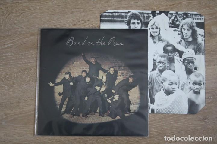 PAUL MCCARTNEY & WINGS, BAND ON THE RUN, PAS10007, (Música - Discos - LP Vinilo - Pop - Rock - Extranjero de los 70)