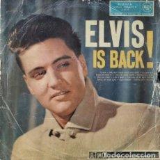 Discos de vinilo: ELVIS PRESLEY - ELVIS IS BACK - LP 1ª EDICION ESPAÑOLA. Lote 192235132