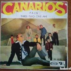 Discos de vinilo: CANARIOS - PAIN (SG) 1969. Lote 192235941