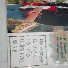 Discos de vinilo: CONCURS MUSICA JOVE CERDANYOLA-LP EL LEGADO -LOS ROTOS -PUNK R'N'R METAL HIP HOP. Lote 192254832