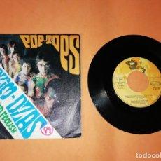 Discos de vinilo: POP TOPS . DZIM DZIM DZAS. SINGLE MOVIE PLAY 1969 .. Lote 192254892