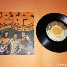 Discos de vinilo: POP TOPS . DIOS A TODOS HIZO LIBRES. EXPLOSION RECORDS 1971. Lote 192255301