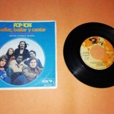 Discos de vinilo: POP TOPS . SOÑAR, BAILAR Y CANTAR. MOVIE PLAY. 1970. Lote 192255662