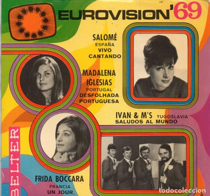 EUROVISIÓN´69 - EP 1969 BELTER MADE IN SPAIN (Música - Discos de Vinilo - EPs - Festival de Eurovisión)