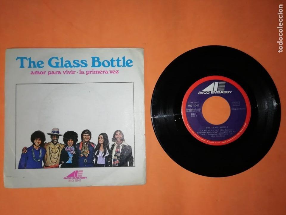 THE GLASS BOTTLE. AMOR PARA VIVIR. AVCO EMBASSY 1970 (Música - Discos - Singles Vinilo - Funk, Soul y Black Music)