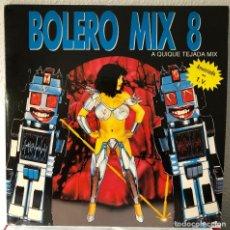 Discos de vinilo: BOLERO MIX 8, DOBLE LP, DANCE HITS. Lote 192259361