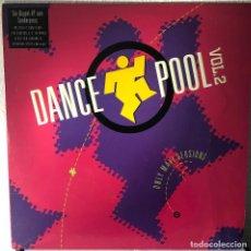 Discos de vinilo: DANCE POOL VOL 2, DOBLE LP HITS. Lote 192259875