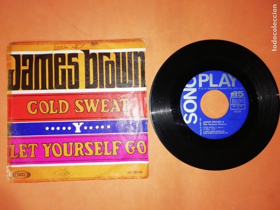 JAMES BROWN. COLD SWEAT. SONO PLAY 1967. (Música - Discos - Singles Vinilo - Funk, Soul y Black Music)