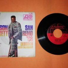 Discos de vinilo: WILSON PICKETT. SAN REMO 68. DEBORAH. ATALANTIC HISPAVOX. 1968. Lote 192260865