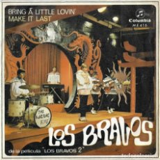 Discos de vinilo: BRAVOS, LOS: BRING A LITTLE LOVIN´ / MAKE IT LAST. Lote 192261162