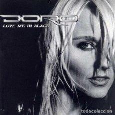 Discos de vinilo: DORO – LOVE ME IN BLACK -LP TEST PRESSING-. Lote 192262062