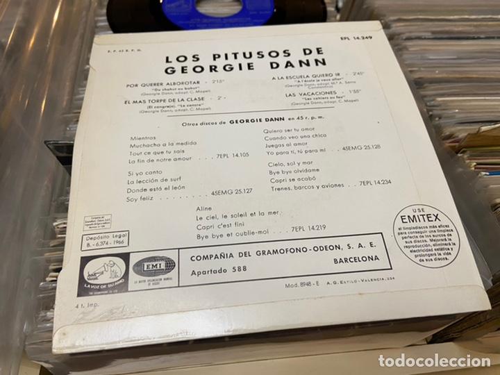 Discos de vinilo: Los pitusos de Georgie Dann Ep disco de vinilo - Foto 2 - 192263277