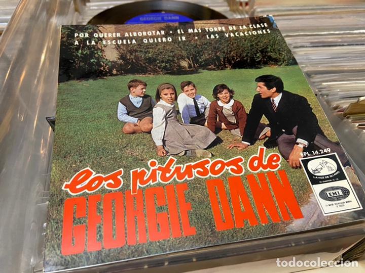LOS PITUSOS DE GEORGIE DANN EP DISCO DE VINILO (Música - Discos de Vinilo - EPs - Solistas Españoles de los 50 y 60)