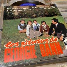 Discos de vinilo: LOS PITUSOS DE GEORGIE DANN EP DISCO DE VINILO. Lote 192263277