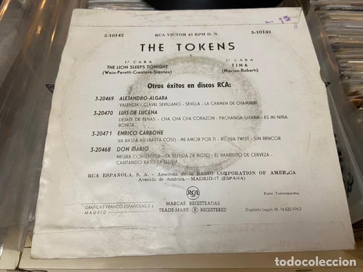 Discos de vinilo: The tokens the lion sleeps Tina Ep Disco de vinilo - Foto 4 - 192263761