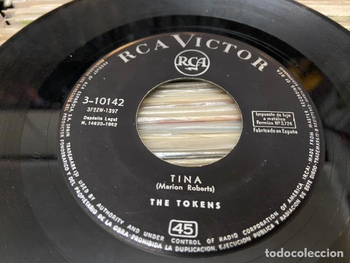 Discos de vinilo: The tokens the lion sleeps Tina Ep Disco de vinilo - Foto 6 - 192263761