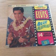 Discos de vinilo: ELVIS BLUE HAWAII EDICIÓN INGLESA. Lote 192263990