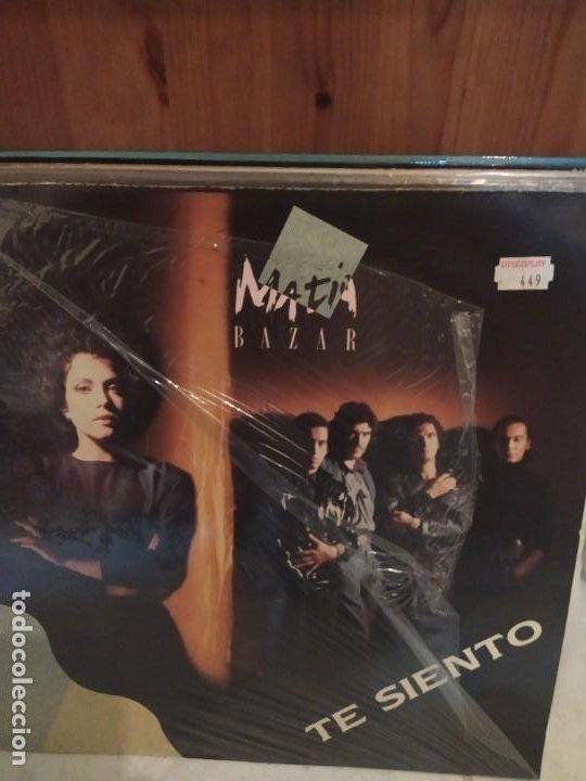 MATIA BAZAR – TE SIENTO MAXI SINGLE (Música - Discos de Vinilo - Maxi Singles - Canción Francesa e Italiana)