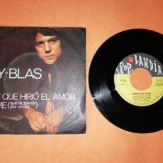 Discos de vinilo: PEDRO RUY BLAS. A LOS QUE HIRIO EL AMOR. POP LANDIA 1970. Lote 192265357