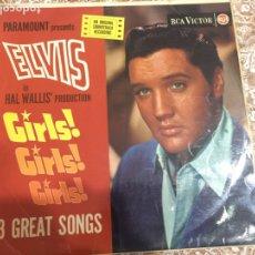 Discos de vinilo: ELVIS GIRLS GIRLS GIRLS. Lote 192265562