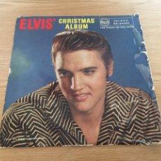 Discos de vinilo: ELVIS CHRISTMAS ÁLBUM. Lote 192265762