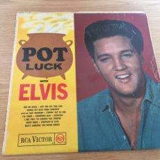 Discos de vinilo: ELVIS POT LUCK. Lote 192265942